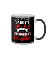 I'm firefighter's daughter shirt Color Changing Mug thumbnail
