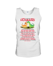 Dinosaur Faithful Partner True Love Husband Unisex Tank thumbnail
