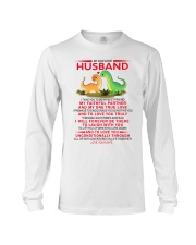 Dinosaur Faithful Partner True Love Husband Long Sleeve Tee thumbnail
