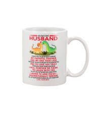 Dinosaur Faithful Partner True Love Husband Mug front