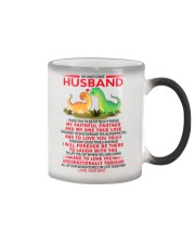 Dinosaur Faithful Partner True Love Husband Color Changing Mug thumbnail