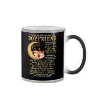 Cat Faithful Partner True Love Boyfriend Color Changing Mug tile