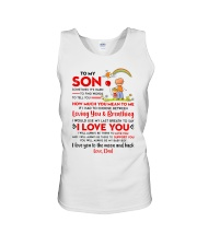 Family Son Dad Breathing Support Moon Unisex Tank thumbnail