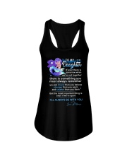 Mermaid Daughter Always Remember  Ladies Flowy Tank tile