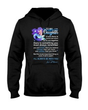 Mermaid Daughter Always Remember  Hooded Sweatshirt tile