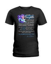 Mermaid Daughter Always Remember  Ladies T-Shirt thumbnail
