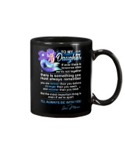 Mermaid Daughter Always Remember  Mug tile