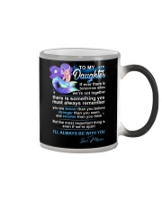 Mermaid Daughter Always Remember  Color Changing Mug tile