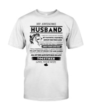 Faithful Partner True Love Wife Horse Classic T-Shirt thumbnail