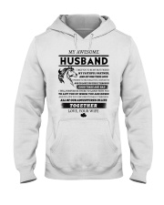 Faithful Partner True Love Wife Horse Hooded Sweatshirt thumbnail