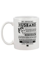 Faithful Partner True Love Wife Horse Mug back