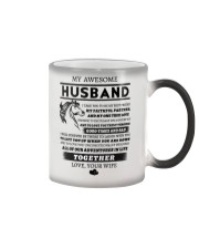 Faithful Partner True Love Wife Horse Color Changing Mug thumbnail