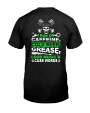 I Run On Caffeine Classic T-Shirt thumbnail
