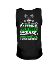 I Run On Caffeine Unisex Tank thumbnail