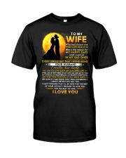 Firefighter Wife Lucky To Live Amazing Life Classic T-Shirt thumbnail