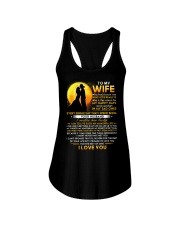 Firefighter Wife Lucky To Live Amazing Life Ladies Flowy Tank thumbnail