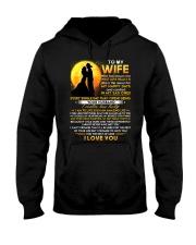 Firefighter Wife Lucky To Live Amazing Life Hooded Sweatshirt thumbnail