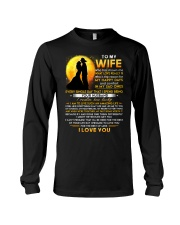 Firefighter Wife Lucky To Live Amazing Life Long Sleeve Tee thumbnail