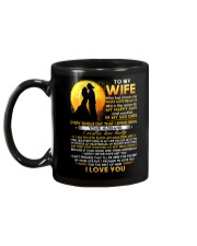 Firefighter Wife Lucky To Live Amazing Life Mug back