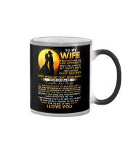 Firefighter Wife Lucky To Live Amazing Life Color Changing Mug thumbnail