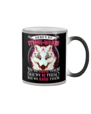 Strong Woman Wolf Color Changing Mug thumbnail