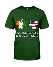 Patrick's day Sharmrocks Lucky Classic T-Shirt front