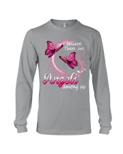 Breast Cancer Angels Among Us Long Sleeve Tee thumbnail