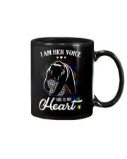 Autism Bear Her Voice My Heart Mug thumbnail