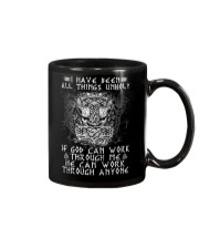 God Can Work Through Me Viking Mug thumbnail