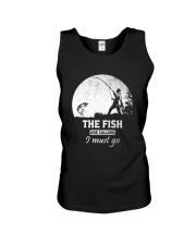 I Must Go Fishing  Unisex Tank thumbnail