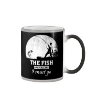 I Must Go Fishing  Color Changing Mug thumbnail