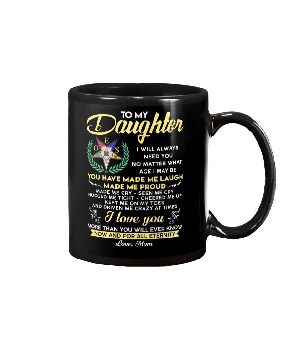 Freemason Daughter Mom Made Me Proud Mug