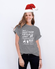 I'm A Sassy Talkin' Flip-Flop Wearin' Turtle Classic T-Shirt lifestyle-holiday-crewneck-front-1