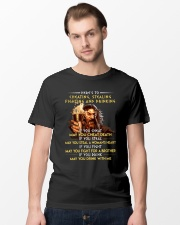 Drink With Me Viking Shirt Classic T-Shirt lifestyle-mens-crewneck-front-15