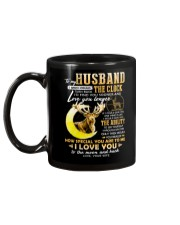 Hunting Husband Clock Ability Moon Mug back