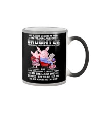 My Freaking Awesome Daughter Bought Me This Pig Color Changing Mug thumbnail