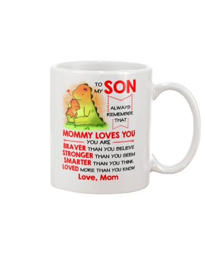 Dinosaur Son Mom Mommy Loves You