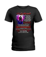 Cross My Heart Girlfriend  Ladies T-Shirt thumbnail