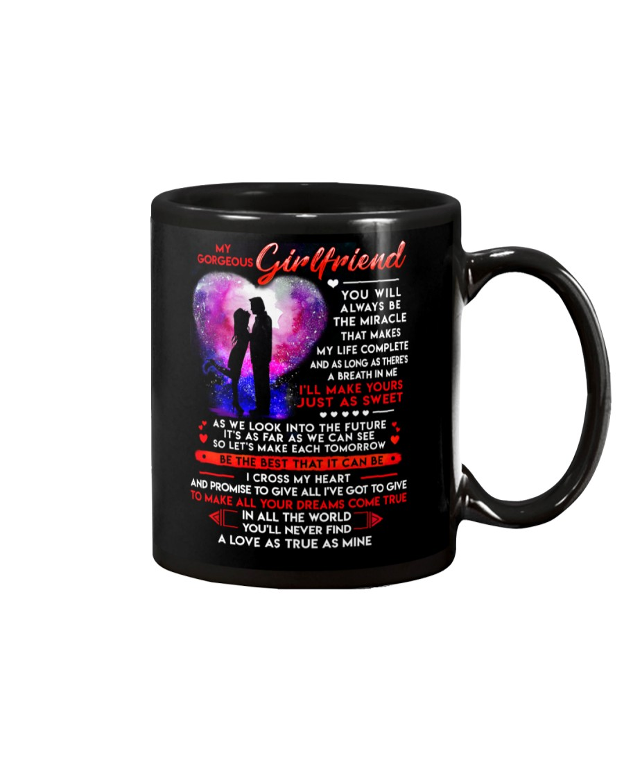 Cross My Heart Girlfriend  Mug