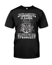 Viking The Hardest Walk Classic T-Shirt front