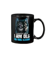I Am Old For Good Reason Wolf Mug thumbnail
