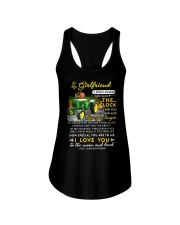 Farmer Girlfriend Clock Ability Moon Ladies Flowy Tank thumbnail