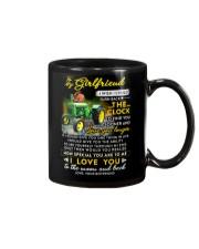 Farmer Girlfriend Clock Ability Moon Mug front