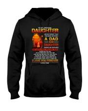 Firefighter The Bond Between Daughter Dad Hooded Sweatshirt thumbnail