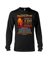 Firefighter The Bond Between Daughter Dad Long Sleeve Tee thumbnail