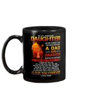 Firefighter The Bond Between Daughter Dad Mug back