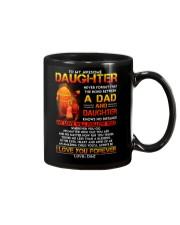 Firefighter The Bond Between Daughter Dad Mug front