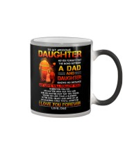 Firefighter The Bond Between Daughter Dad Color Changing Mug thumbnail