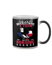 Texan Nurse Color Changing Mug thumbnail