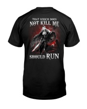 That Does Not Kill Shieldmaiden Should Run Classic T-Shirt thumbnail